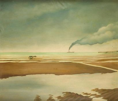 Ray BRET-KOCH (1902-1996) Nieuport, 1947...