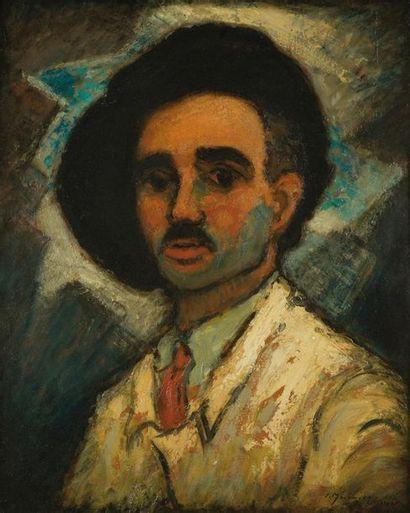 Pierre MOLINIER 1900-1976 «L'homme au béret,...