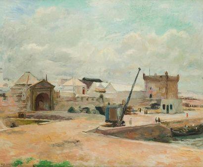EDY LEGRAND (1892-1970) Mogador, le port...