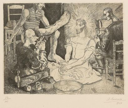 Alfred COURMES (1898 - 1993) Apparition....