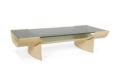 ANNÉES 1960/70 Table basse rectangulaire....