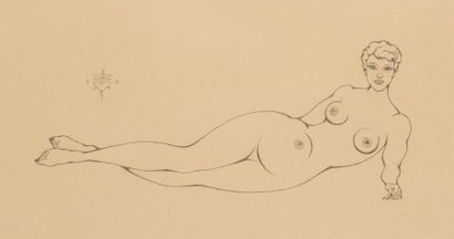 Pierre MOLINIER 1900-1976 « La fleur du Paradis...