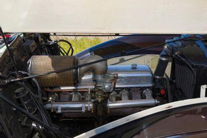 DELAGE, Cabriolet Milord Type D6 3 Litres du 9 juin 1948, n° de châssis et n° moteur...