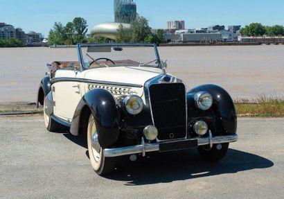 DELAGE, Cabriolet Milord Type D6 3 Litres...