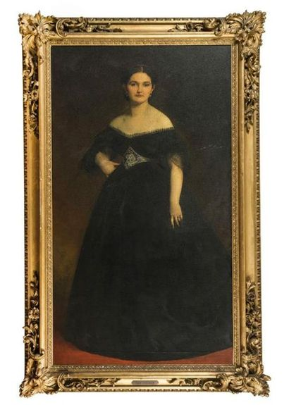 Gustave RICARD (1823-1873) Eglé Exshaw, 1864...