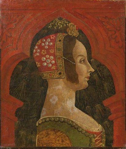 Ecole Lombarde vers 1480 Portrait d'homme...