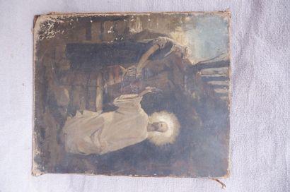 P. SIRIBALDI (XIXe siècle). Le Christ et...