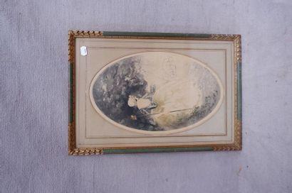 Jean HARDY (1880-?). Pastorales. Deux aquatintes...