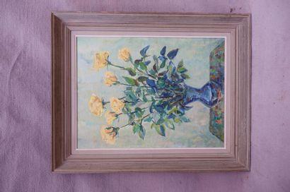 Maria SCHUSTER-MARKWITZ (XXe siècle). Bouquet...