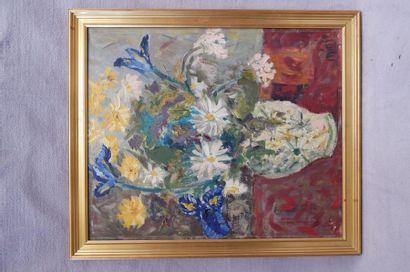 MINGUS (XXe siècle). Bouquet de marguerites...
