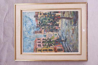 Sophie ISAAC (XXe siècle). Place provençale,...