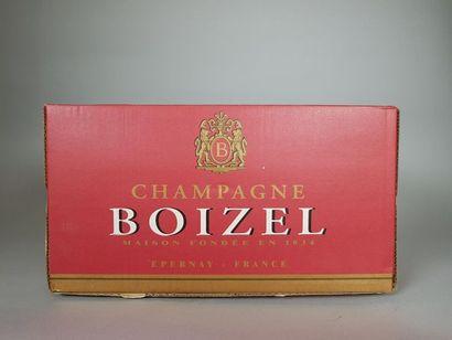 2 bouteilles de champagne brut blanc de blanc...