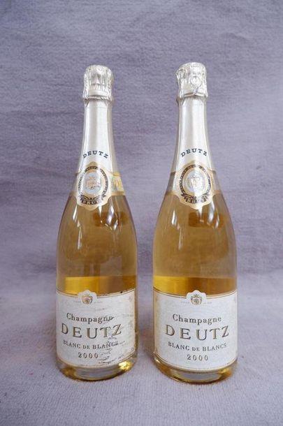 Champagne Deutz Blanc de blanc 2000 2 bo...