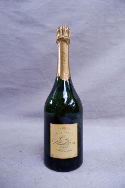 Champagne cuvée Wiliam Deutz 1998 1 bout...