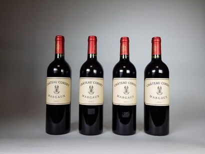 4 bouteilles de Château CORDET (Margaux)Très...