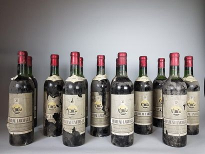 12 bouteilles CHÂTEAU LARTIGUE (3 B.G; 2...