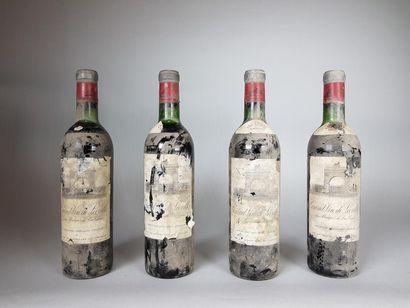 4 bouteilles de CHÂTEAU LEOVILLE LAS CASES...