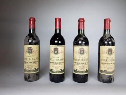 5 bouteilles de CHÂTEAU LARCIS DUCASSE (3...