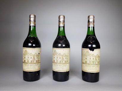 3 bouteilles CHÂTEAU HAUT BRION GCC1 Graves...
