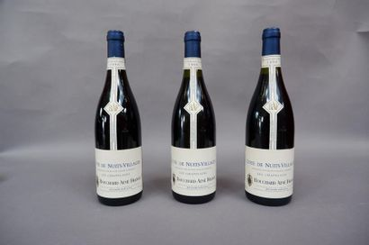 3 Côtes de nuits village , Les Chapelains...