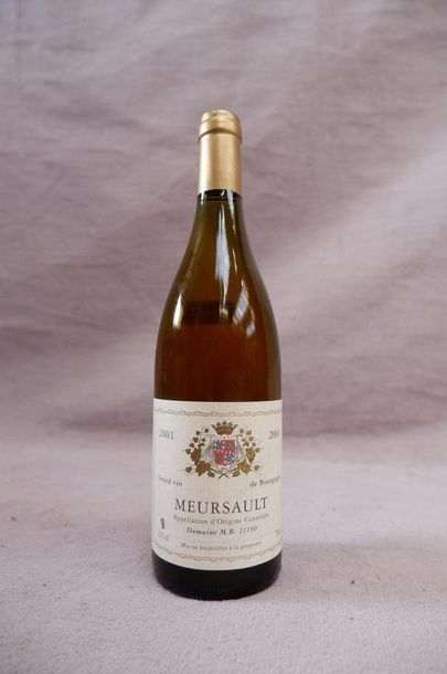 Meursault 2001 1 bouteille