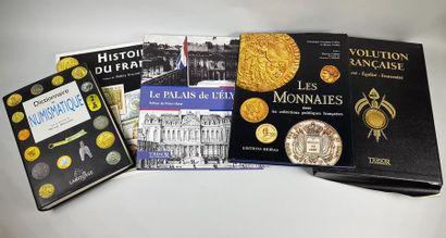 Petit lot de livres sur la numismatique