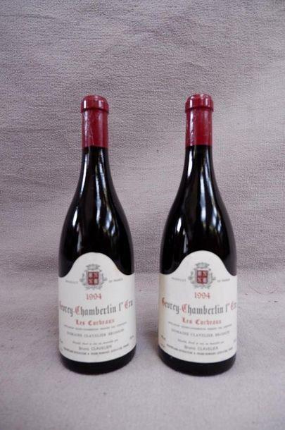 Gevrey Chambertin 1er cru 1994 2 bouteil...