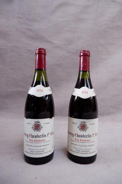 Gevrey-Chambertin 1er cru Clavelier 1993...