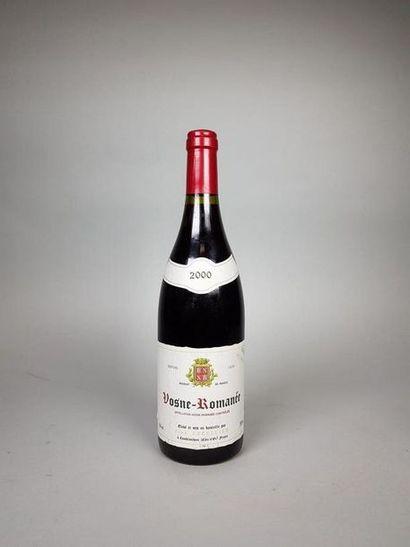 Une bouteille VOSNE ROMANEE, Jean LECELLIER,...