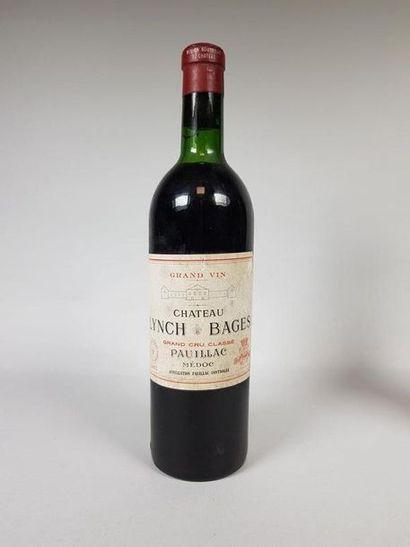 Château LYNCH BAGES, 1967