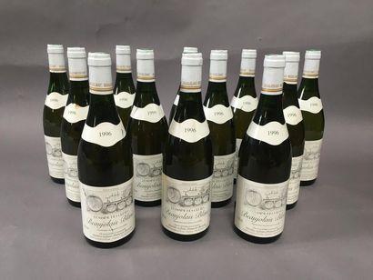 12 bouteilles de Beaujolais Blanc domaine...