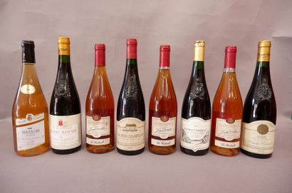 3 Sancerres Rosés 2001 2 Anjou Rouge 2 Saumur...
