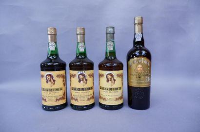 4 bouteilles de porto Branco Lagrima