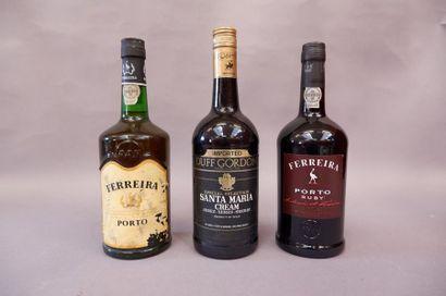 Une bouteille de Porto Ferreira, Une bouteille...