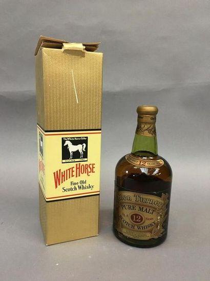 1 bouteille Scotch Whisky Glen Turner 12...