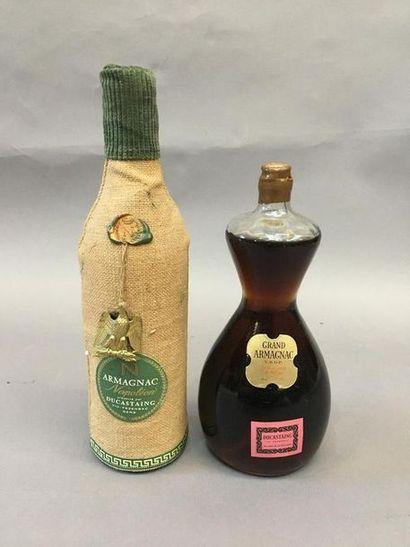 1 bouteille d'armagnac Napoléon DUCASTAING,...