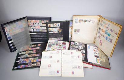 Un Lot de timbres