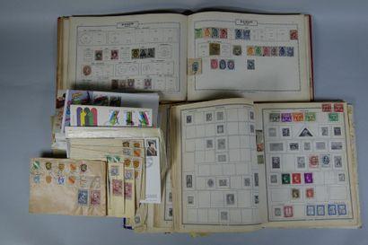 Lot de timbres : France 5 BM + Sarre + BF1...
