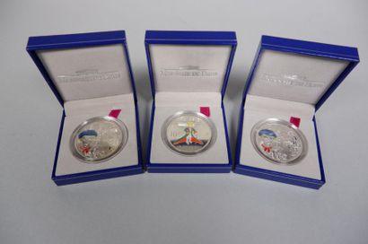 Monnaie de Paris. 2 médailles Gavroche et...