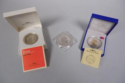 Monnaie de Paris. La monnaie de l'an 2000...