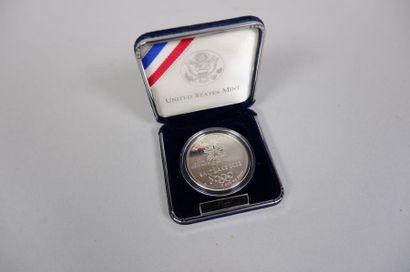 Médaille en argent Jeux olympiques 2002....