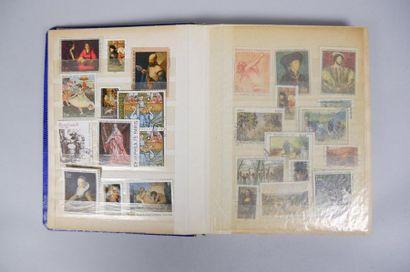 1 album de timbres : France Moderne Neuf...
