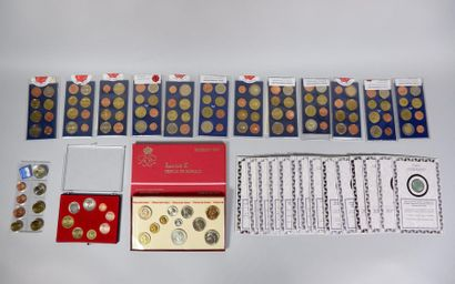 Coffret coins of century (incomplet) 14 sets...