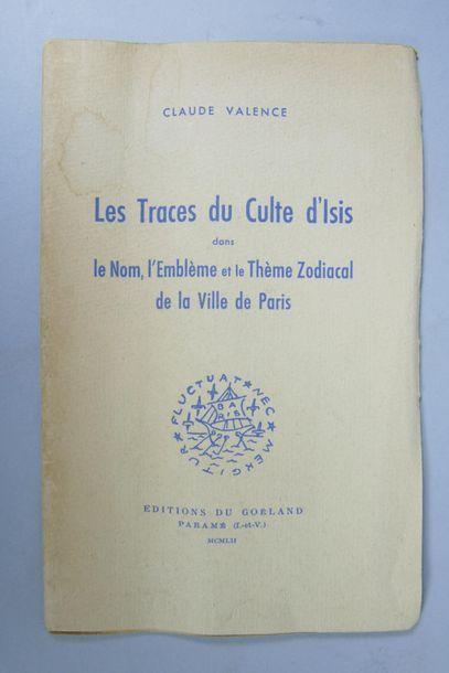 Claude VALENCE, Les Traces du Culte d'Isis...