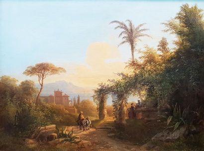 Joseph MAYER-ATTENHOFER (1806-1885) Paysage...