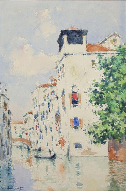 Albert Ferdinand DUPRAT (1882-1974) Venise....