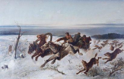 Attribué à Nikolaï EGOROVITCH SVERCHKOV (1817-1898)...