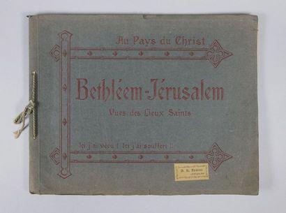 Au Pays du Christ, Bethléem-Jérusalem, Vues...