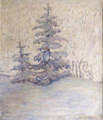 Ursula VEHRIGS (1893-1972) Jour de neige....