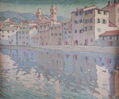 Charles MANGIN (1892-1977) Le vieux port...